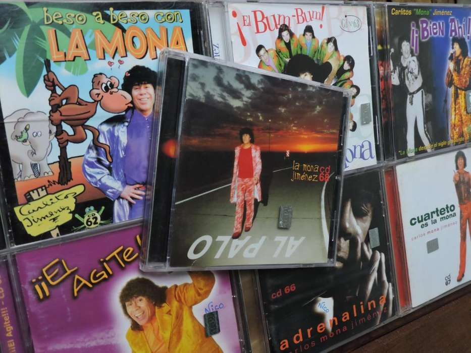 Mona Jimenez Lote 7 Cds Discos Nº 62 A 68