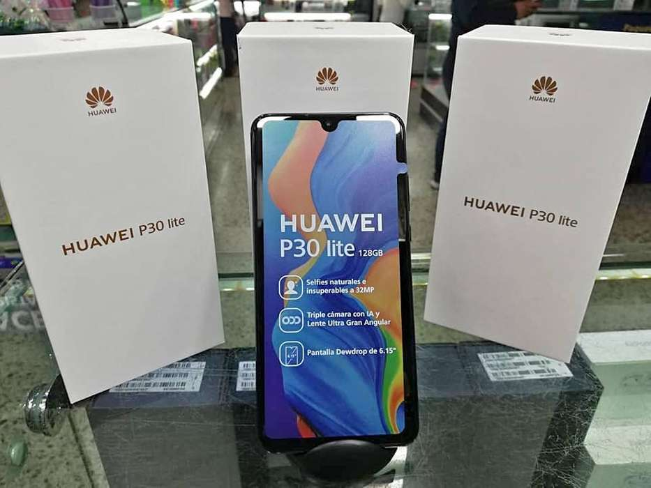 Huawei P30 Lite 128gb Nuevos Sellados Garantía