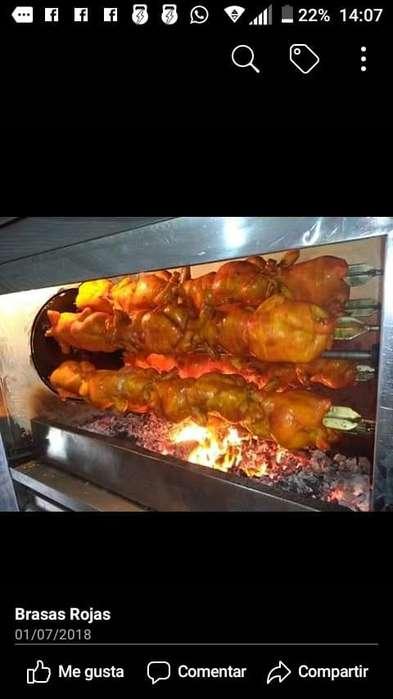 Horno para pollo al carbon