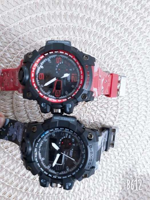 b9e19f1ff208  strong relojes  strong  Casio G Shock Doble ...