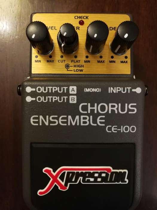 Pedal Chorus Ensemble Xpression