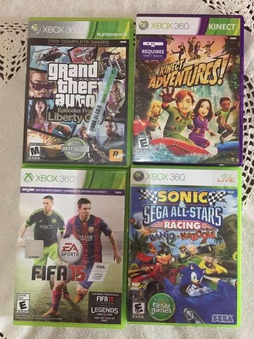 Lote de Juegos Xbox