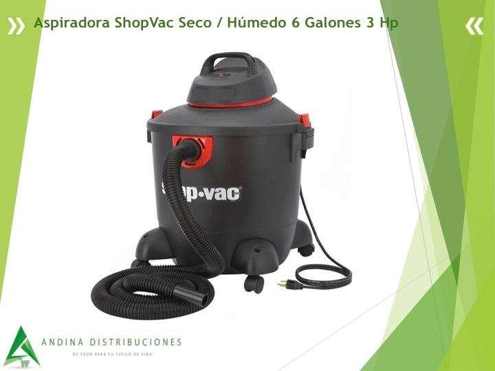 <strong>aspiradora</strong> ShopVac Seco / Húmedo 6 Galones 3 Hp