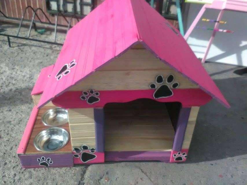 Casas en madera para <strong>perro</strong>