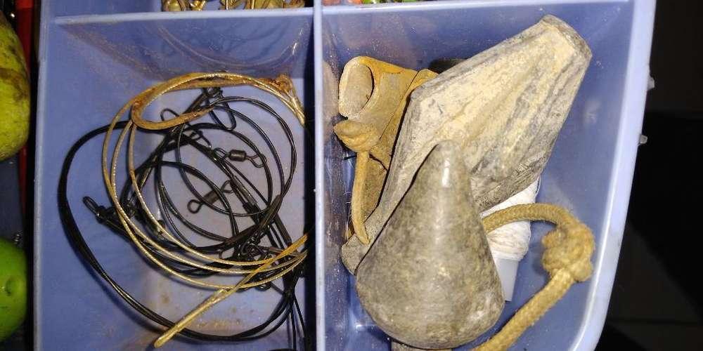 Vendo Urgente Todo Accesorio de Pesca