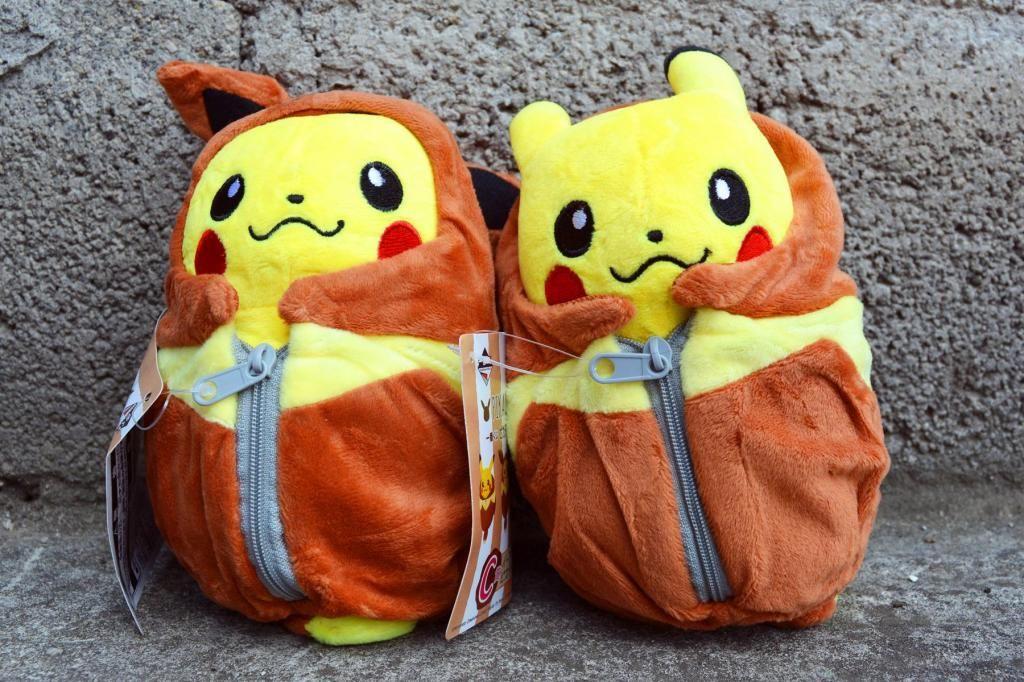 Peluches Pokemon Pikachu traje de Eevee