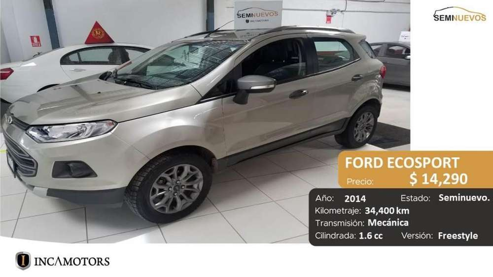 Ford Ecosport 2014 - 34400 km