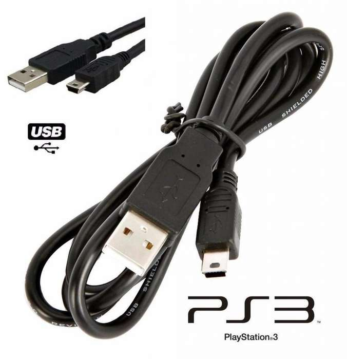 Cable De Datos Control Play Station 3