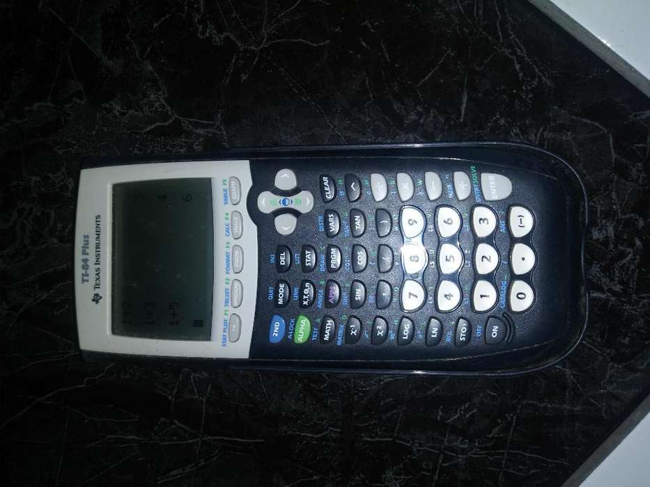 <strong>calculadora</strong> Americana Ti- 84 Plus