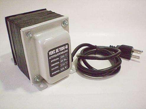 Tranformador 600 Watts De 220v A 110v