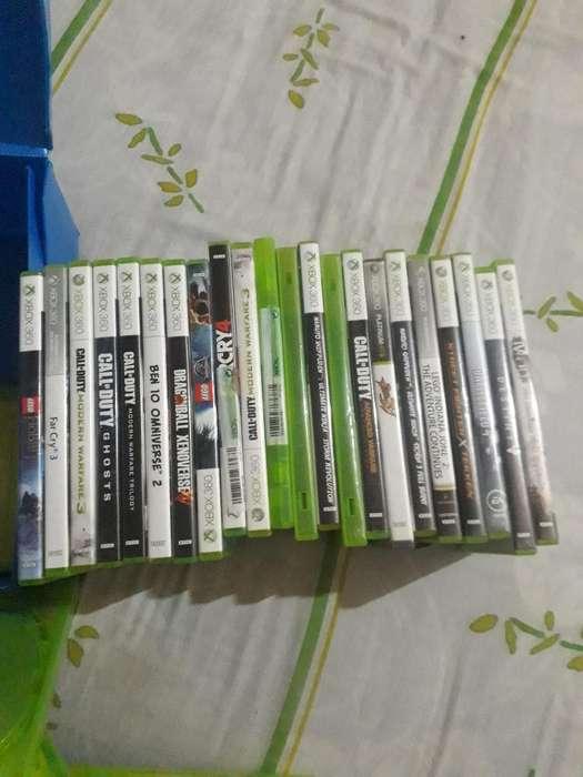 Vendo Juegos Originales de Xbox360