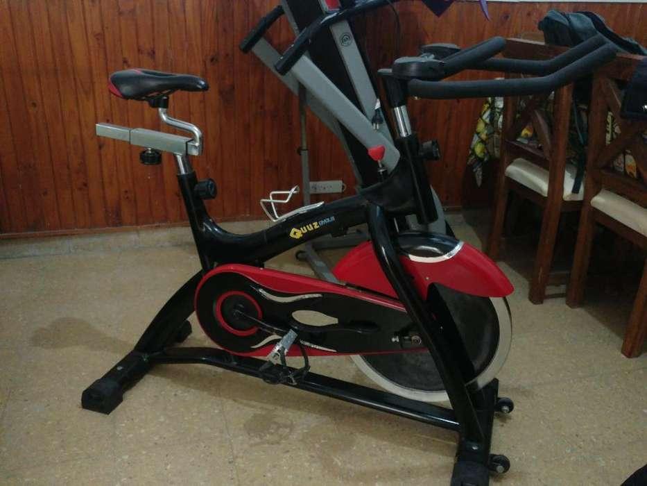 Cinta Semikon. Y Bici Spinning. Liquido