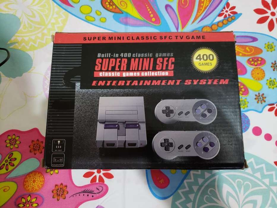 Super Nintendo con 400 Juegos