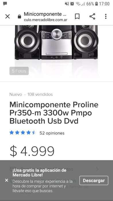 Minicomponente Proline
