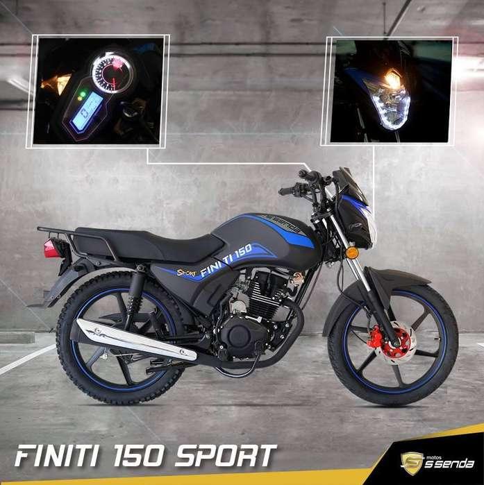 Moto ssenda Finiti 150cc Sport