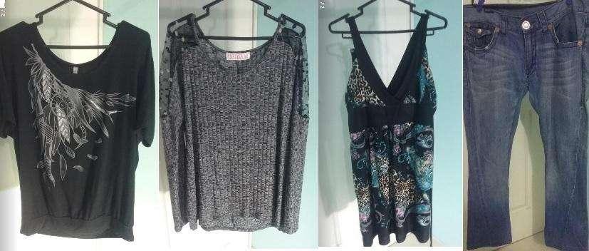Lote 5 piezas ropa para mujer XL Poco Uso Buen Estado Y Calidad