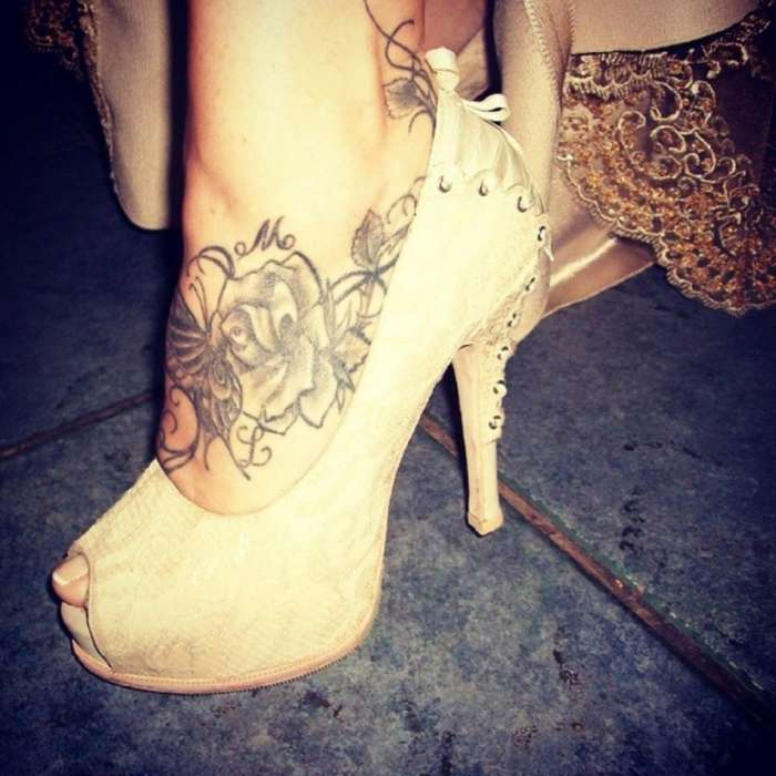 Zapato Peep Toe Novias