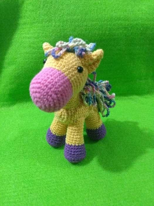 Caballito en Crochet