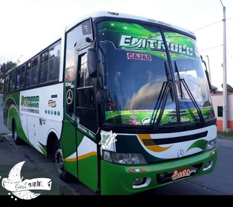 Vendo Bus Interprovincial con Acciones