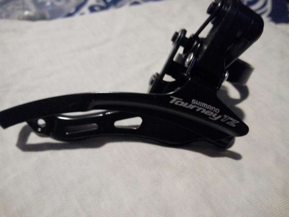 Descarrilador Shimano Tz