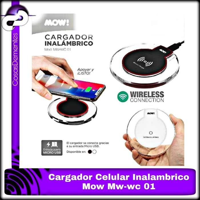 CARGADOR INALÁMBRICO MOW WIRELESS