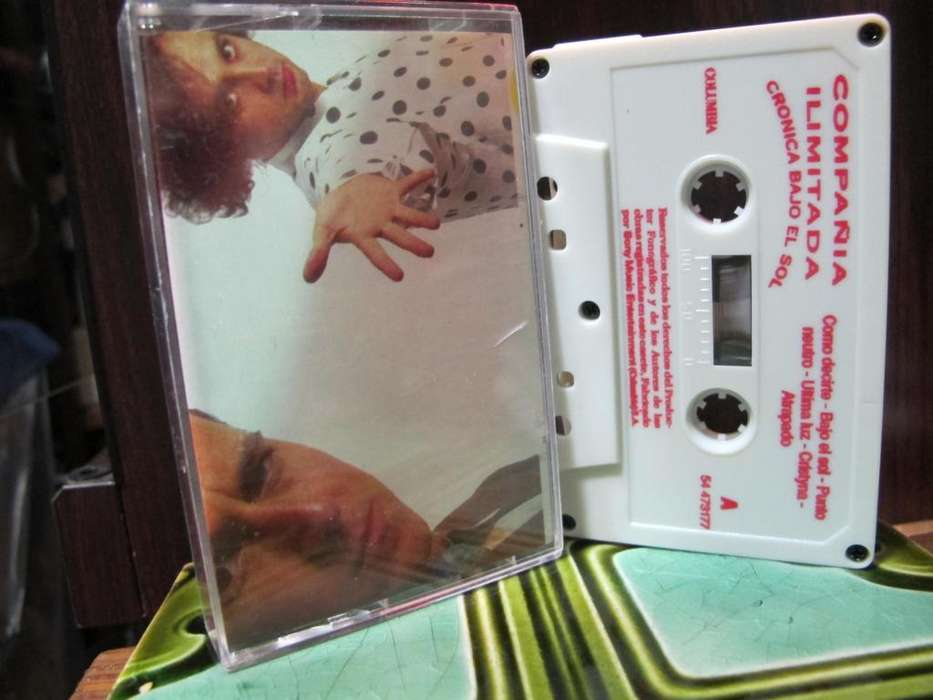Compañia Ilimitada - Cronica Bajo El Sol - Cassette COLOMBIA