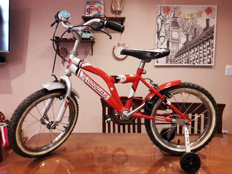 Bicicleta Bmx Rodado 16 con Rueditas