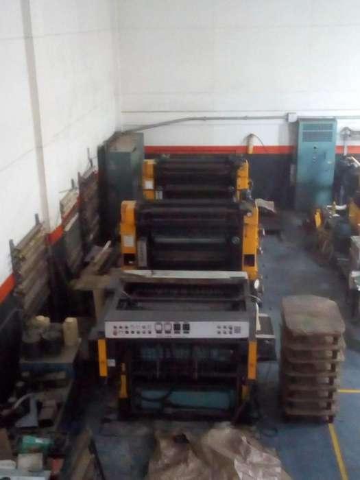 Impresora Offset 4 Colores Roland Matic Rekord
