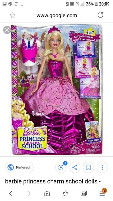 Barbie Muñeca Original Charm School