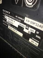 Televisor Sony Wega 29 Pulgadas