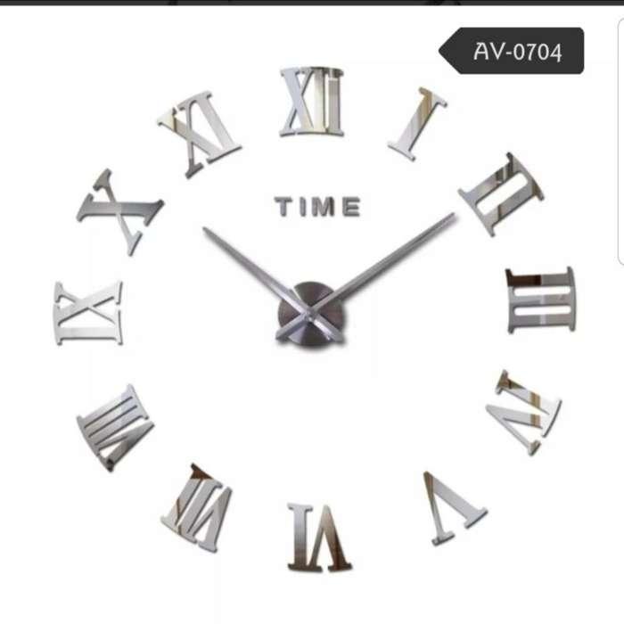 Reloj 3d Disponible