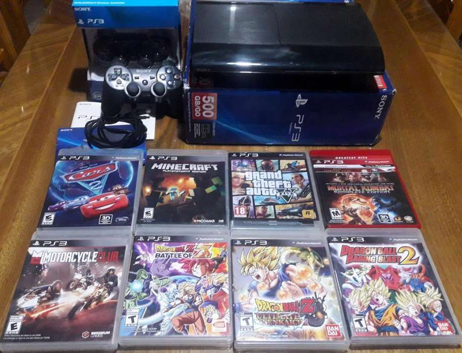 Vendo Playstation 3, 2 Joystick Y Juegos