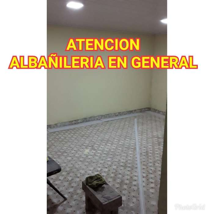 Atencion Albañil Disponible Contratista