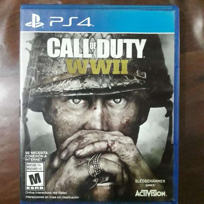 Call Of Duty Word War 2 Ps4 Fisico