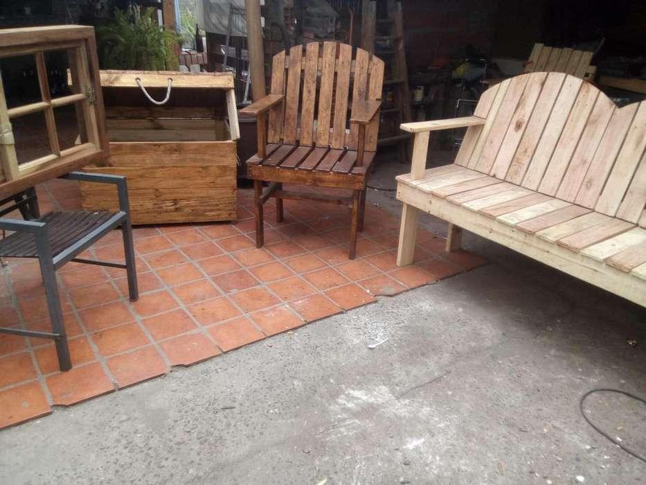 muebles de maderas resicladas