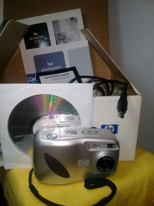 Camara Digital Hp Photosmart 318 Impecab