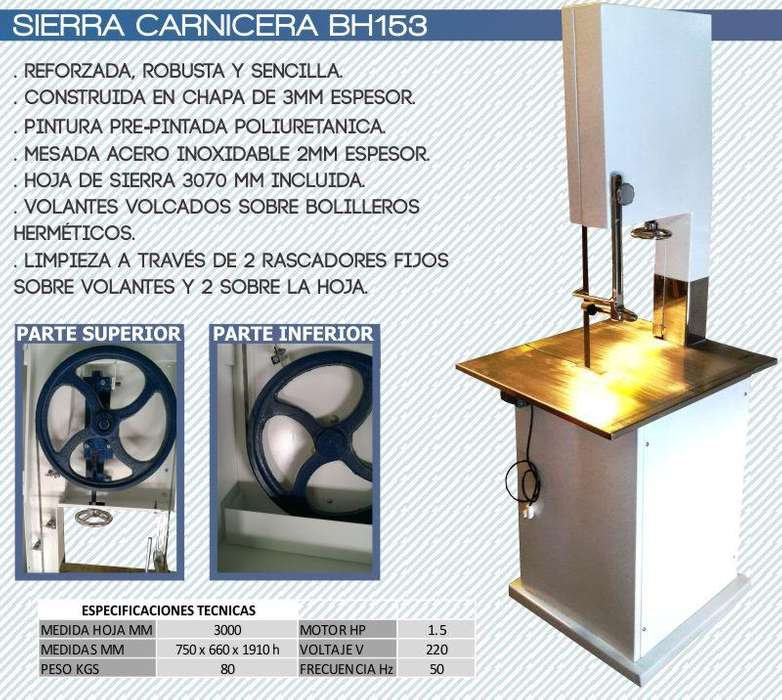 Sierra Carnicera Industrial