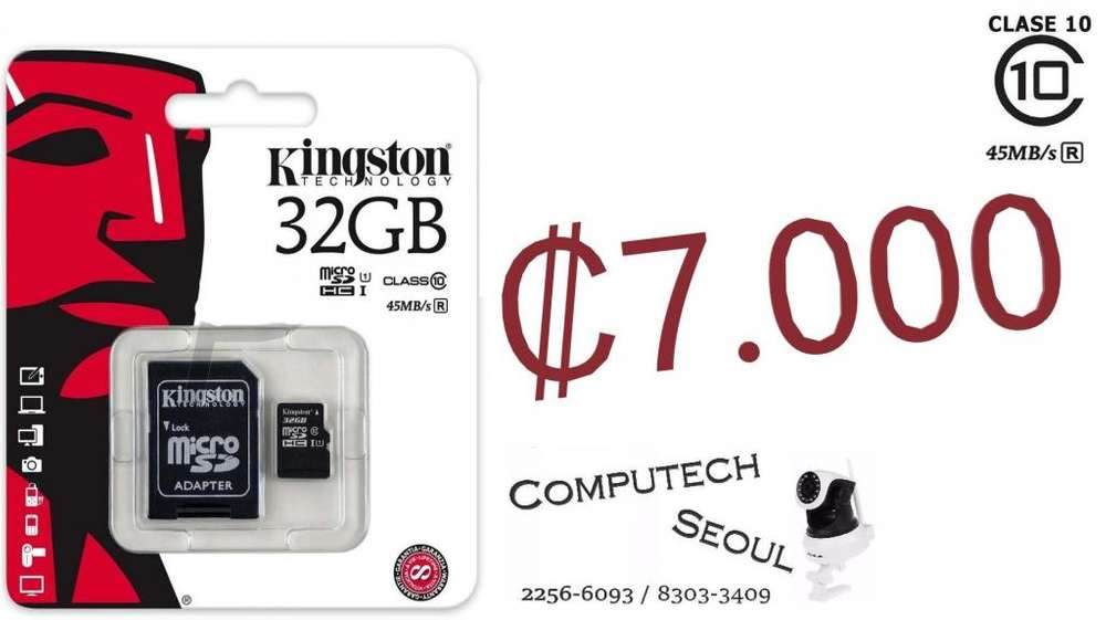 Micro Sd Kingston 32 Gb