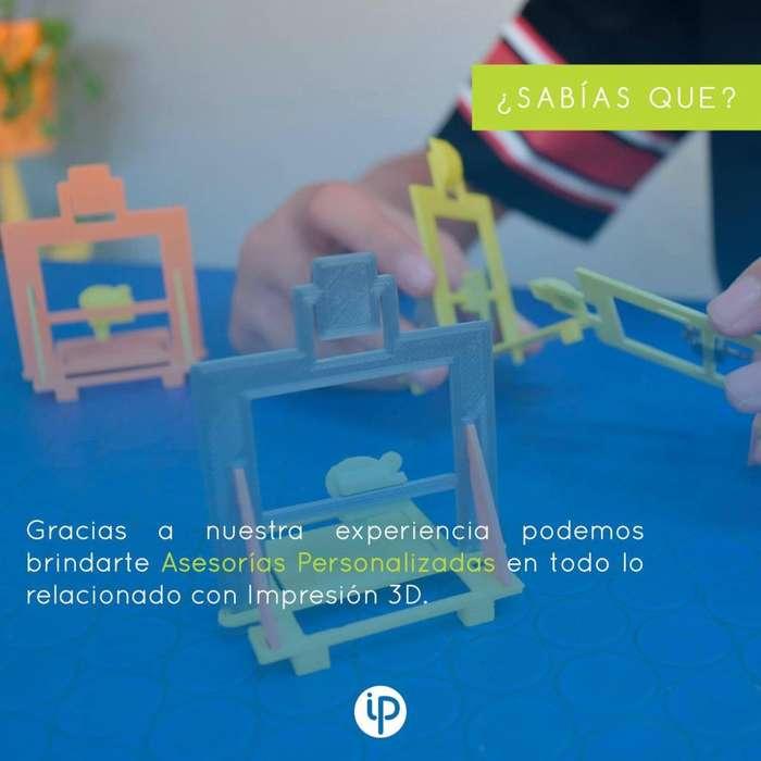 Conoce nuestras asesorías en impresión 3D