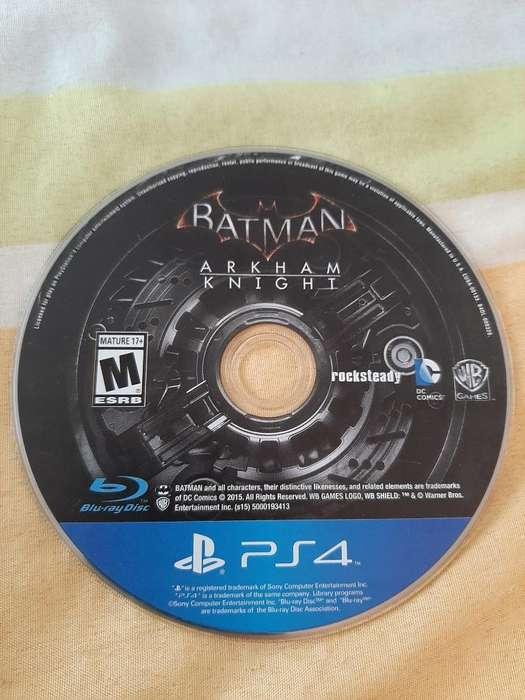 Vendo Batman Ps4