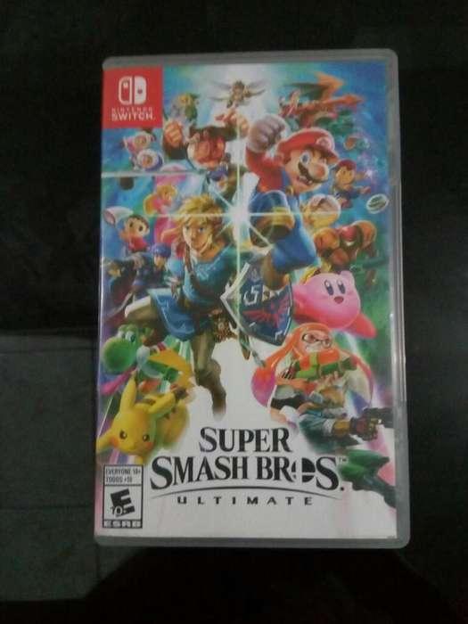 Juego Super Smash Bros Ultimate 3 Meses