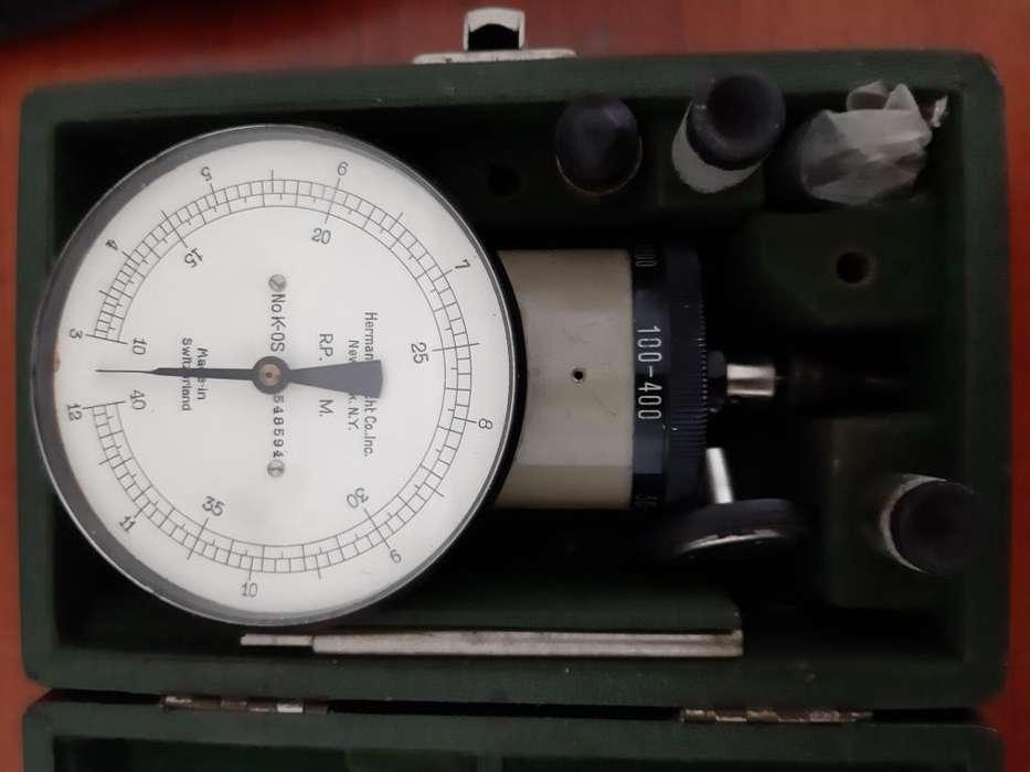 Tacometro de mano Type 35-J-10 Swiss