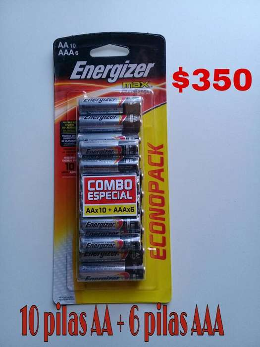 Combo Pilas Energizer