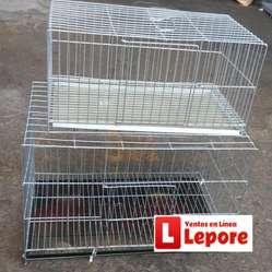 Jaulas Enteras Económicas Para Conejo Cuy Aves con Bandeja Viruta ENVIOS