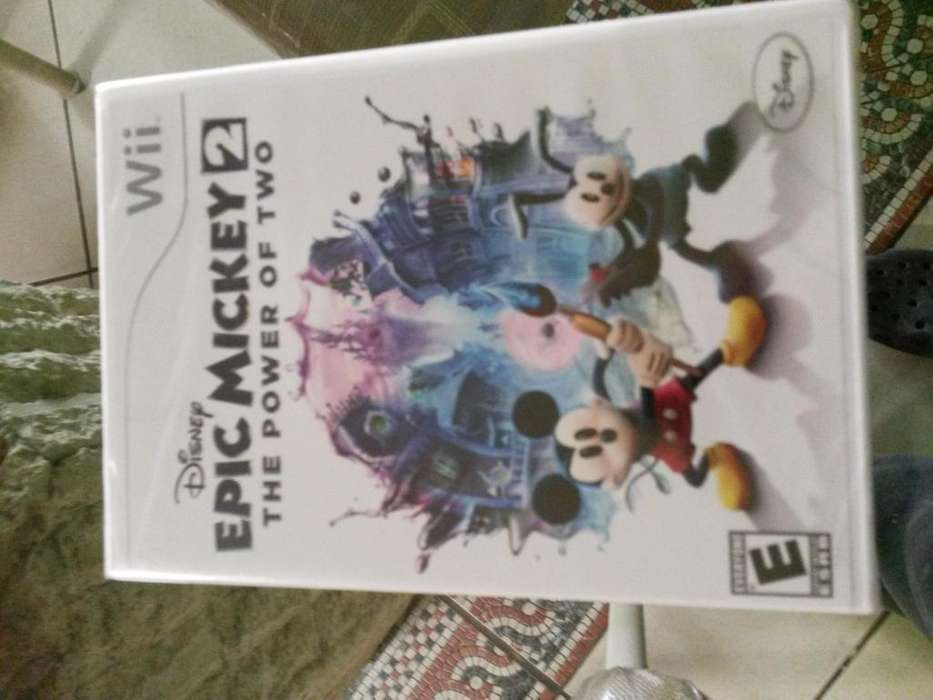WII EPIC MICKEY 2 THE POWER OF 2