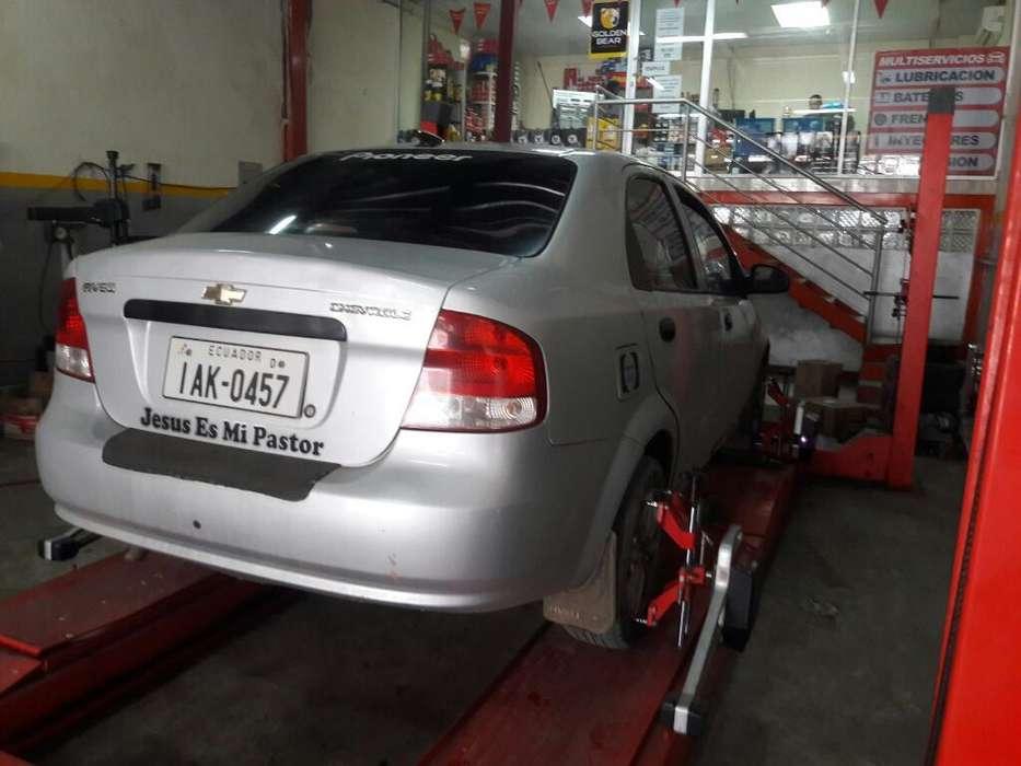 Chevrolet Aveo 2008 - 952300 km