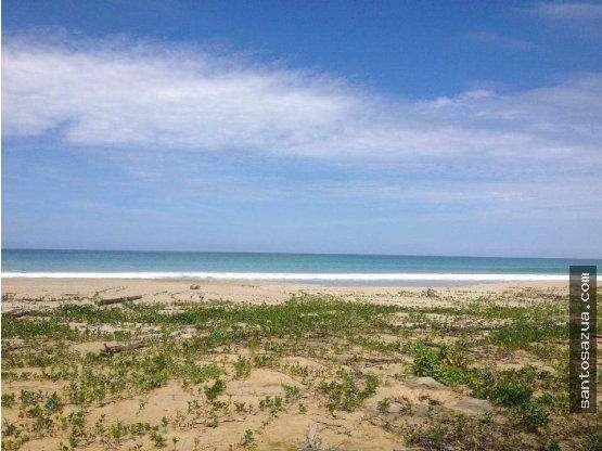 Venta terreno frente al mar en Canoa