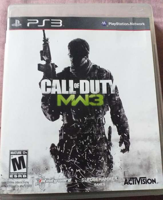 Call Of Duty Mw3 para Ps3 Full Game
