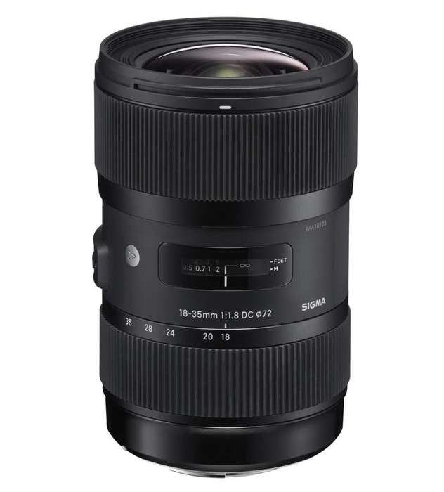 Sigma 1835 F1.8 Para Canon