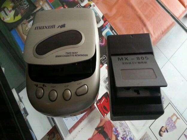 Rebovinador de cinta hi8 y mini dv en perfecto estado y poco uso